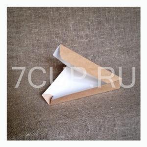 Коробка из картона для кусочка пиццы