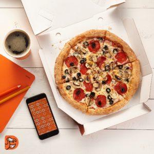 Коробка для пицца ДоДо